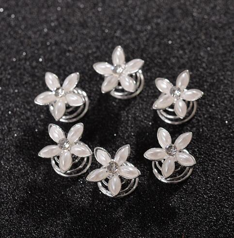Prom Crystal Pearl Flower...