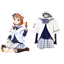 Love Live Sunshine Cosplay Takami Chika Costumes Uniform Outfit Anime Costume Halloween Carnival