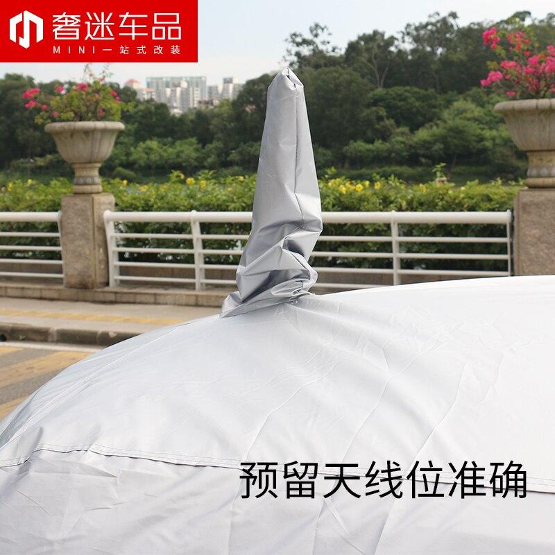 1 set taille spéciale revêtement de voiture protection solaire étanche à la poussière bâche de voiture pour BMW MINI cooper countryman clubman F54 F55 F56 F60 R60 - 5