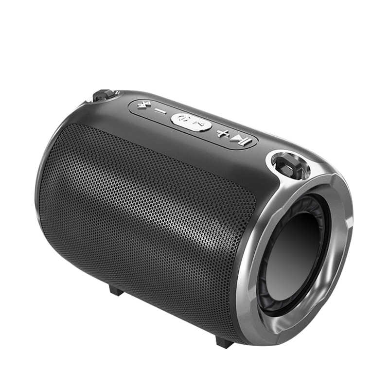 NBY Bluetooth Wireless Speaker Stereo Column  HIFI Portable Boombox Subwoofer Speakers Support FM Radio TF AUX USB for Phones
