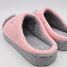 Cartoon Cute Cat Warm Slippers 6colors