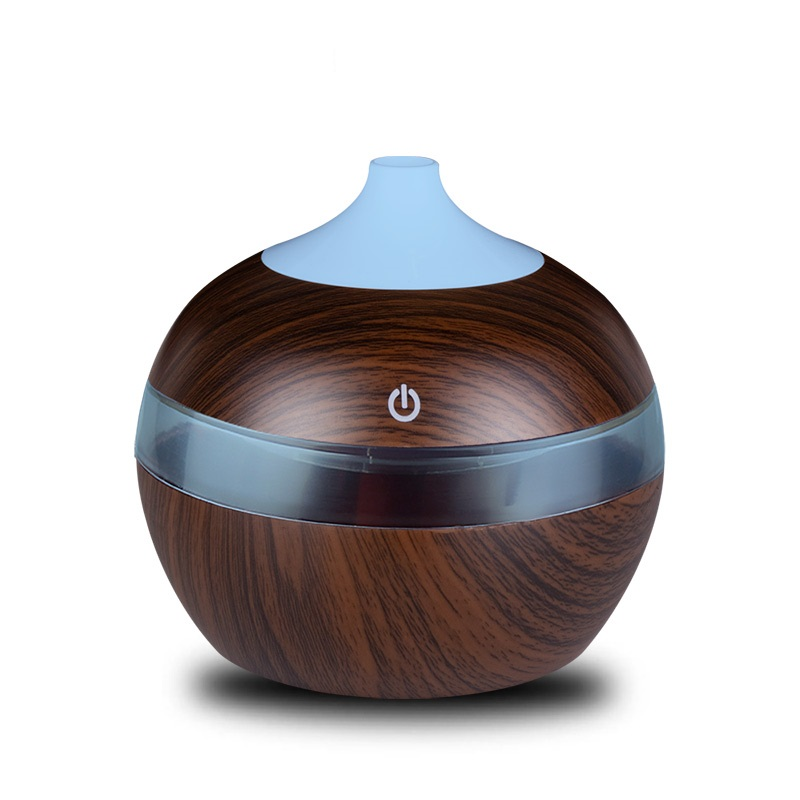 300ML USB Aroma Essential Oil Diffuser Ultrasonic Cool Mist Humidifier Air Purifier 7 Color Change LED Night light for Home300ML USB Aroma Essential Oil Diffuser Ultrasonic Cool Mist Humidifier Air Purifier 7 Color Change LED Night light for Home