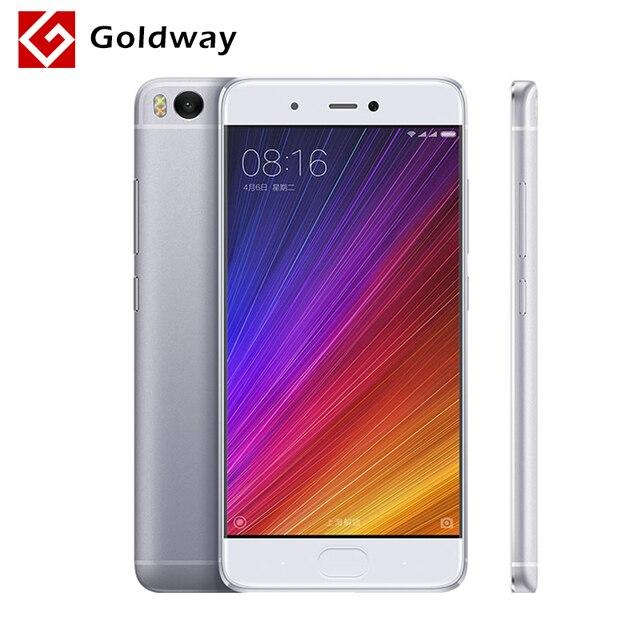 """Оригинал Xiaomi Mi Mi5s 5S 3 ГБ RAM 64 ГБ ROM Мобильный Телефон Snapdragon 821 Quad Core 5.15 """"Дюймовый 1920x1080 P Ультразвуковой Сканер Отпечатков Пальцев"""
