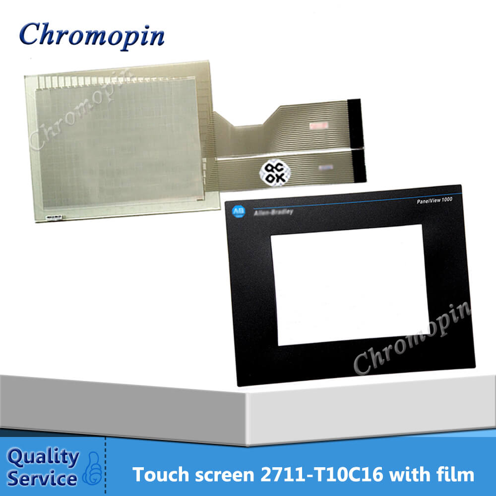Touch panel for AB 2711-T10C16 2711-T10C16L1 2711-T10G15L1 2711-T10G3 PanelView 1000 with Protective film new panelview 1000 2711 t10c16 2711 t10c16l1 hmi plc touch screen panel membrane touchscreen