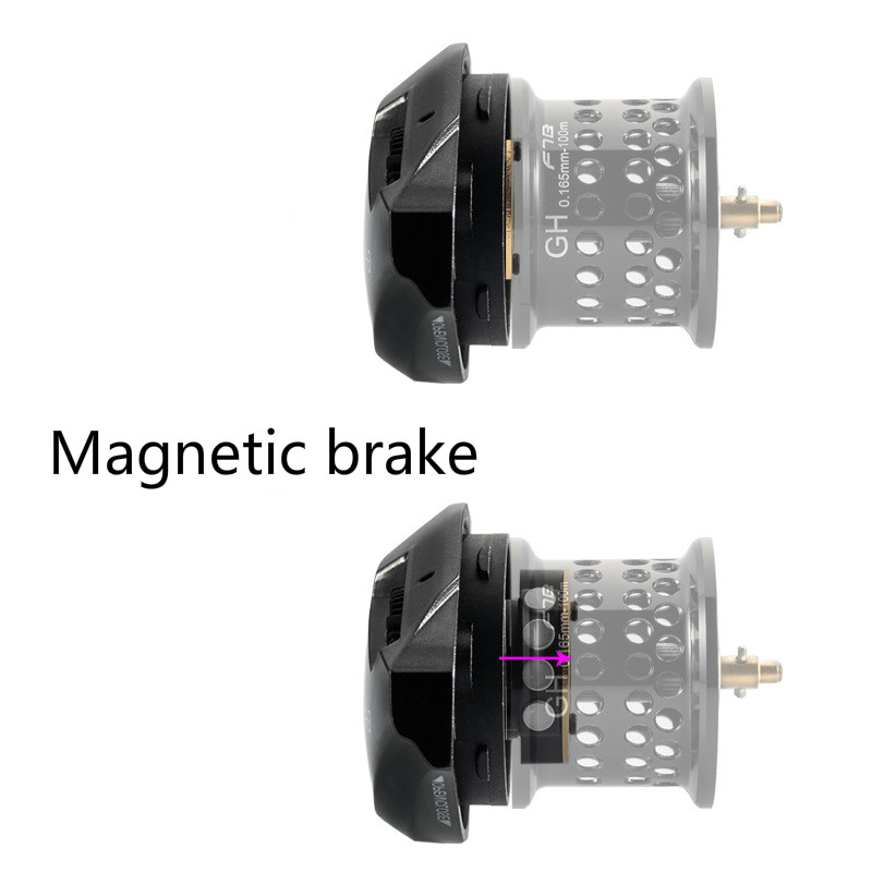 Image 4 - Fishband GH100 Reel Micro material Water Drop Wheel Carbon Ultra light Throwing Dynamic Magnetic Brake Anti explosion Line Reel-in Fishing Reels from Sports & Entertainment