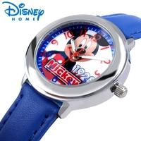 Disney Fashion Mickey Mouse Kids Watches Boys Girls Luxury Cartoon Quartz Wristwatches Children Watches For Girls
