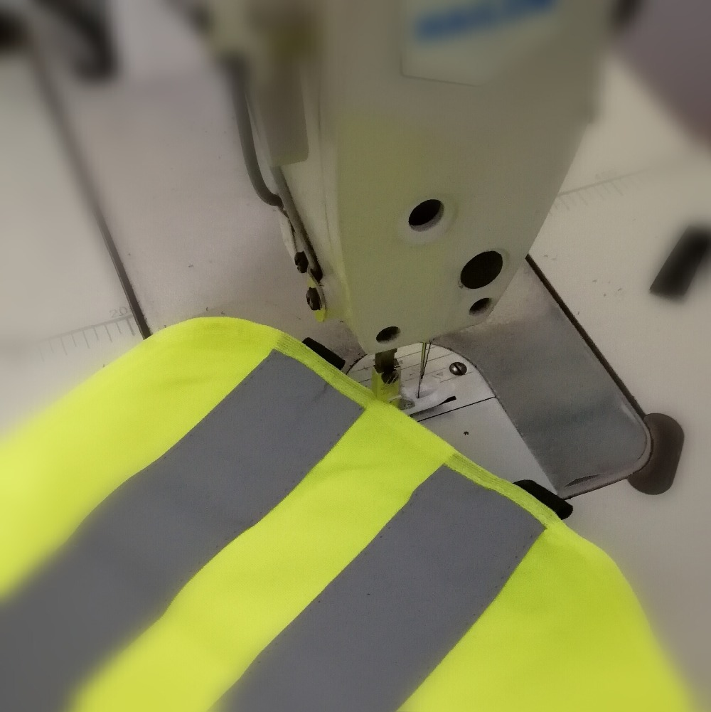 Image 2 - DIY 5CMx3Meter High visibility grade Sew On reflective tape reflective fabric sewn on clothing bags for visibility safety use-in Reflective Strips from Automobiles & Motorcycles