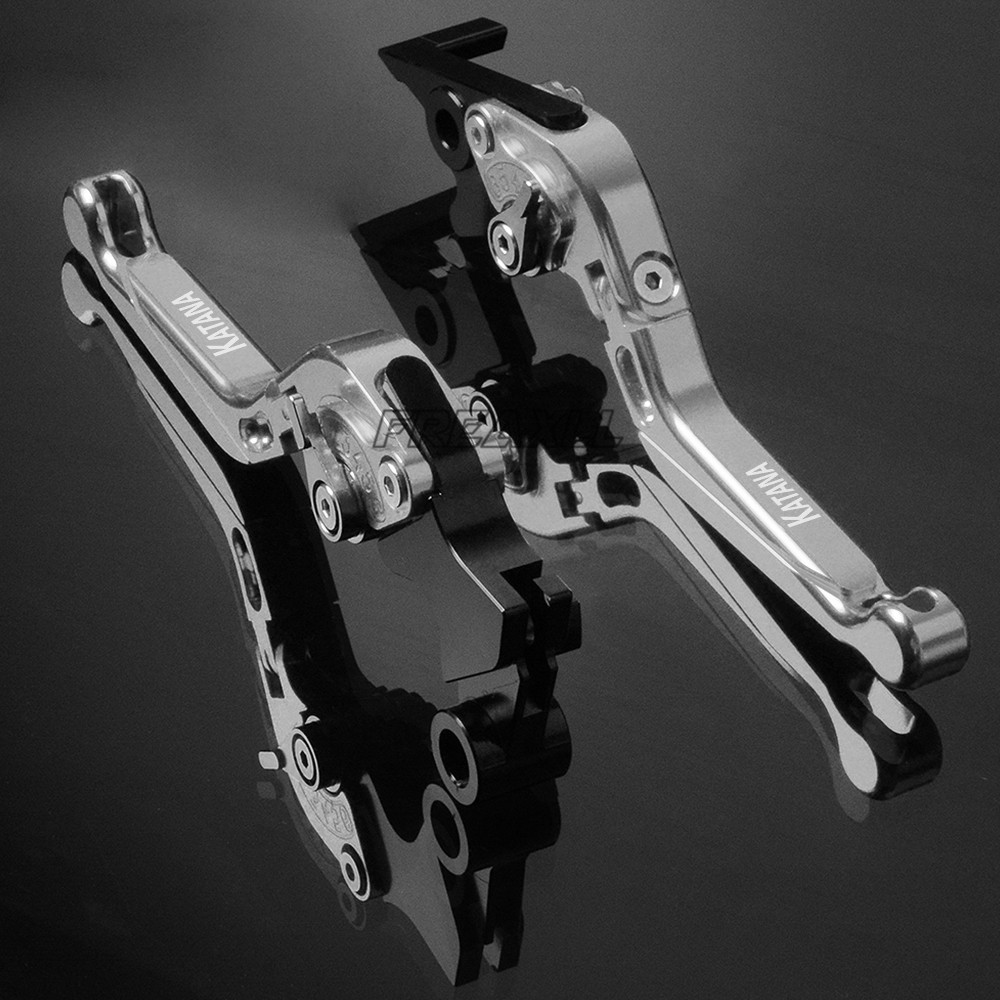 For SUZUKI 600 750 KATANA 600KATANA 750KATANA 1998 2006 FREAXLL Motorbike Levers Motorcycle Brake Clutch Levers Folding Flexible in Levers Ropes Cables from Automobiles Motorcycles