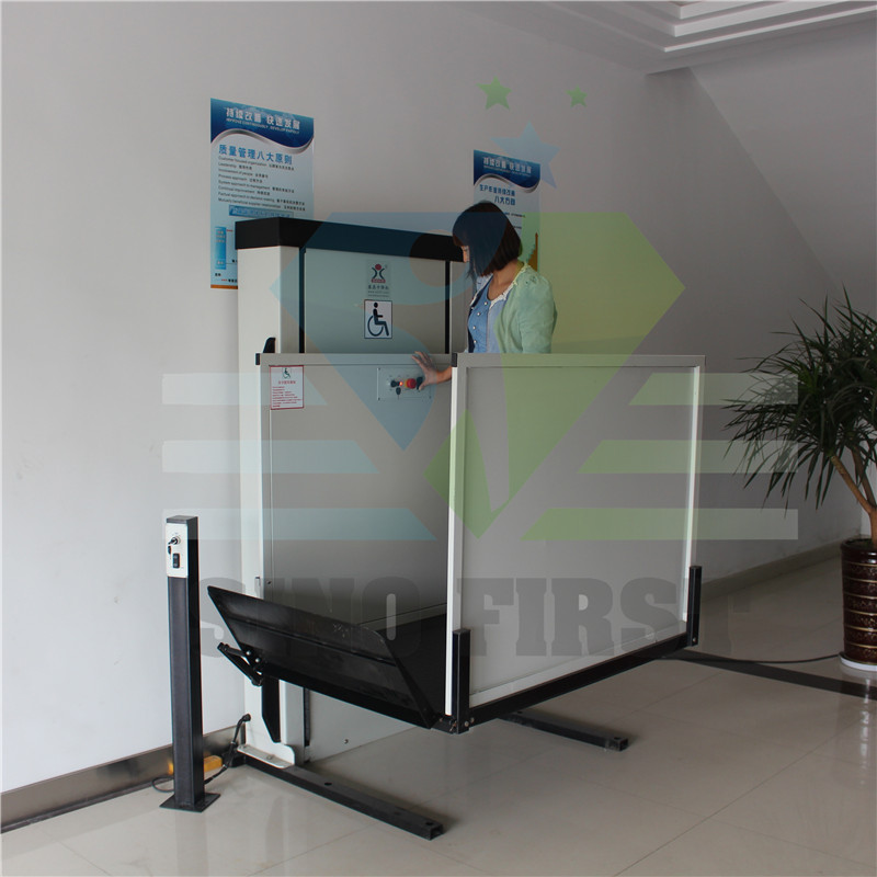 Electric Home Wheelchair Lift Elevator