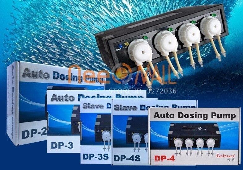 Jebao Jecod pompe doseuse automatique DP2 DP3 DP4 récif de corail Aquarium poisson usine réservoir pompe à eau Air Chihiros
