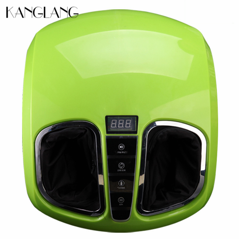 KANGLANG 3D Electric Foot Massager Machine With Air Compression Rolling Heat Therapy For Health Care Relaxation Personal Shiatsu kanglang 4d multi function electric foot massager circular massage airbags heat scrap leg machine old man leg massager device