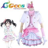 Free Shipping Cosplay Costume Love Live! Snow Halation Nico Yazawa Game Cos Dress Anime Uniform Halloween Christmas