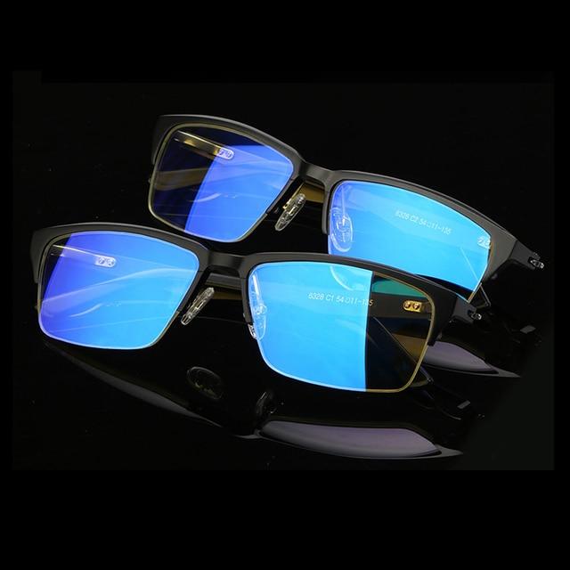 b32718b08c2 Anti Blue Light Ray Computer Glasses Transparent Glasses Frames of Optical  Frame Men AL-Mg