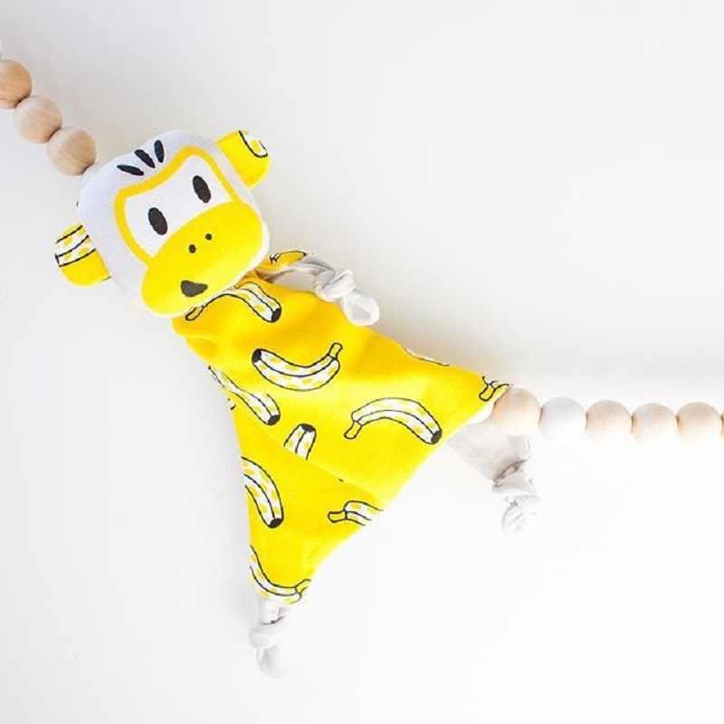 יפה קוף סוס תוכי האריה קטיפה שמיכת צעצוע יילוד תינוקות קריקטורה בעלי החיים Speelgoed Dekens לפני השינה שינה נוחות מתנה