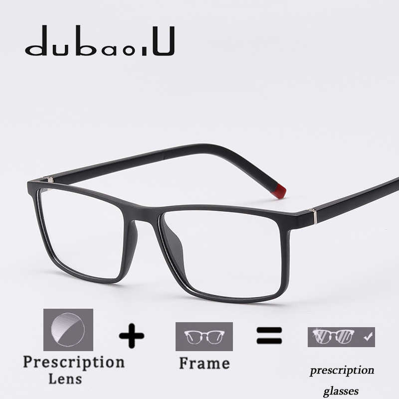 061b8e68899 TR90 Prescription Eyeglasses Men Optical Progressive Multifocal Photochromic  Anti Blue Clear Lens Prescription Glasses  MZ04