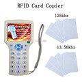 USB smart NFC копировать Писатель RFID 125 КГц-13.56 МГц IC/ID Карты RFID Копир для uid tag Копировальных + tk4100/T5577 Брелков