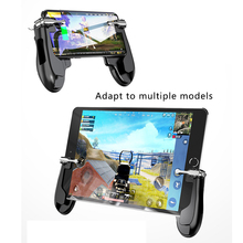 Mobile Control For Ipad Tablet Cell Phone Gamepad Trigger Fire Button Shooter Controller Joystick For PUBG  L1R1 For IOS Android shooter controller joystick for pubg mobile control for ipad tablet cell phone gamepad trigger fire button l1r1 for ios android