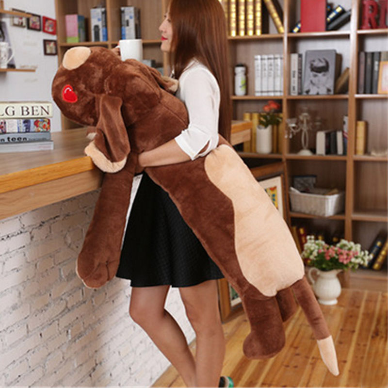 Fancytrader Giant Soft Animals Dog Plush Toys Big Stuffed Cartoon Dog Pillow Kids Play Doll 150cm 59inch sturm hg2003lcd