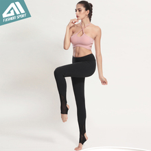 2017 New Aimpact Women Yogo Pants Sexy Fitness Pant Girl Tight Running Workout Pants Female Mesh Slim Fitted Sports leggings