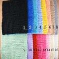 New Arrival Jumbo Size 24cmX32cm 16colors Girl Children Knitted Crochet Tutu Tube Tops Chest Wide 10pcs/lot