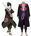 Free Shipping Naruto Shippuden Uchiha Sasuke Eagle Organization Uniform Suit Anime Cosplay Costume