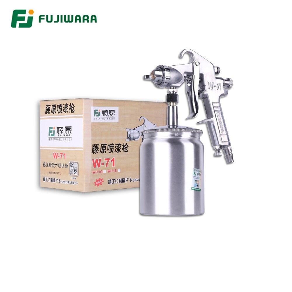 FUJIWARA Pneumatic Spray Paint Gun Varnish Spray Gun Highly Atomized Furniture Wooden Furniture Automobile Spray Gun