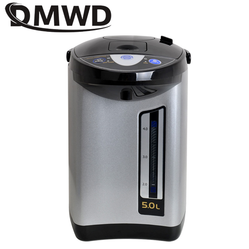 DWMD Electric Thermo Pot Kettle Air Pressure Heating Hot Water Boiler 110V 5L Bottle Thermal Insulation Water Dispenser Heater