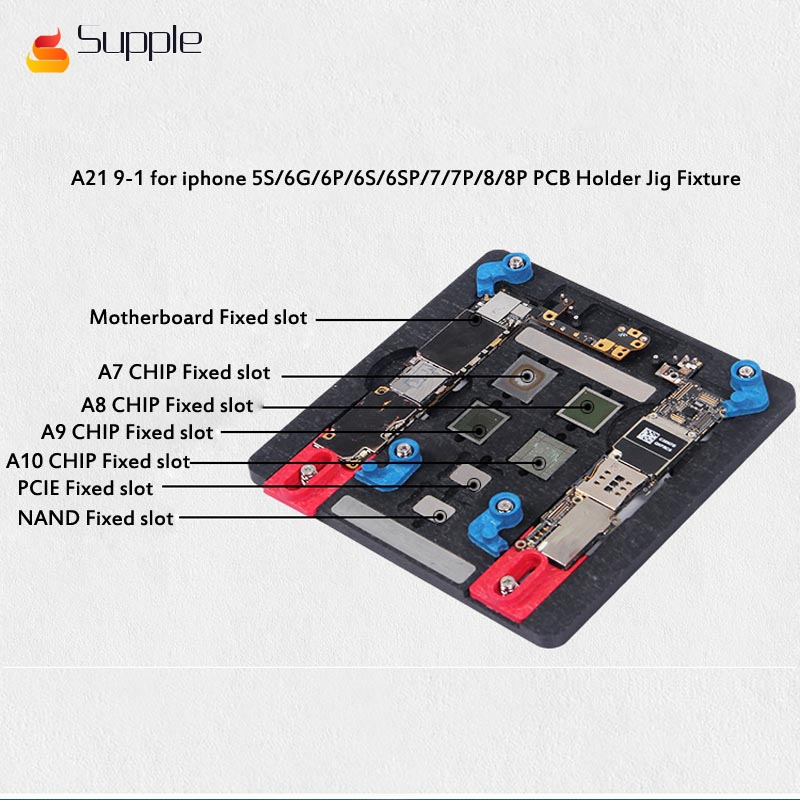 Supple universal Fixture High temperature phone IC Chip motherboard Jig Holder Maintenance for iphone for samsung for sony image