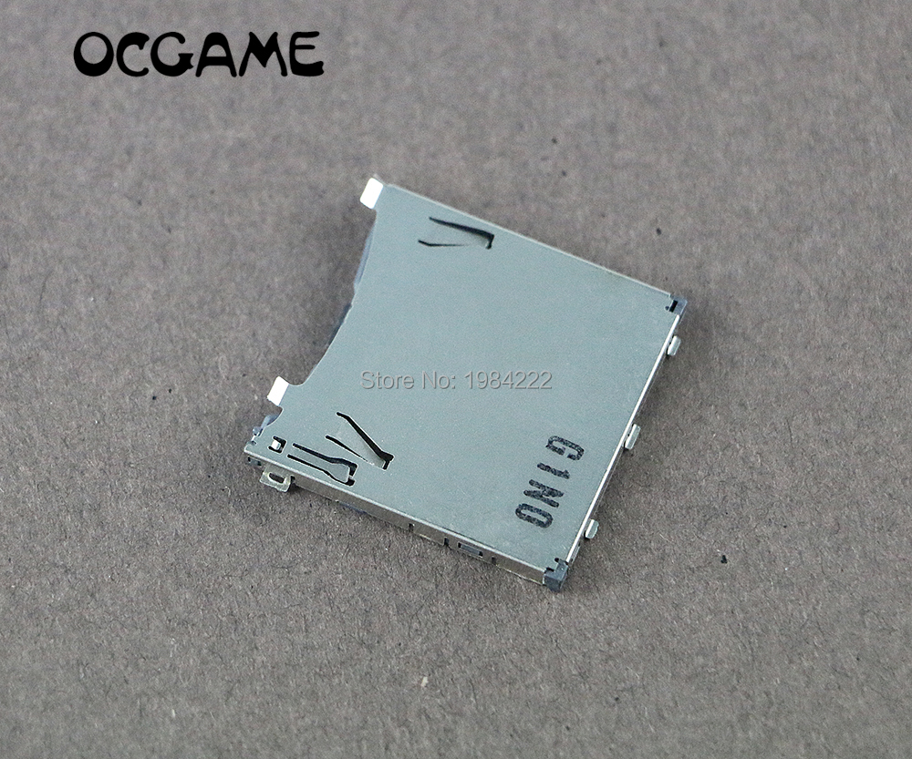 OCGAME Genuine Game Cards Games Memory Card Slot Replacement For PS Vita PSV1000 PSV2000 Handheld Console Repair Part