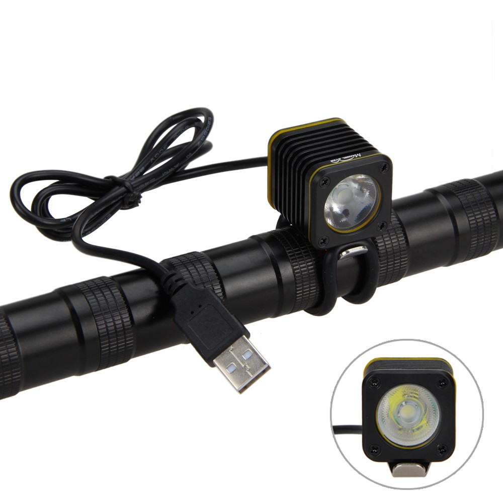 Mini USB 5000lm 4 modes XM-L T6 LED Bicycle Light Head Torch Bike Mountain Lamp