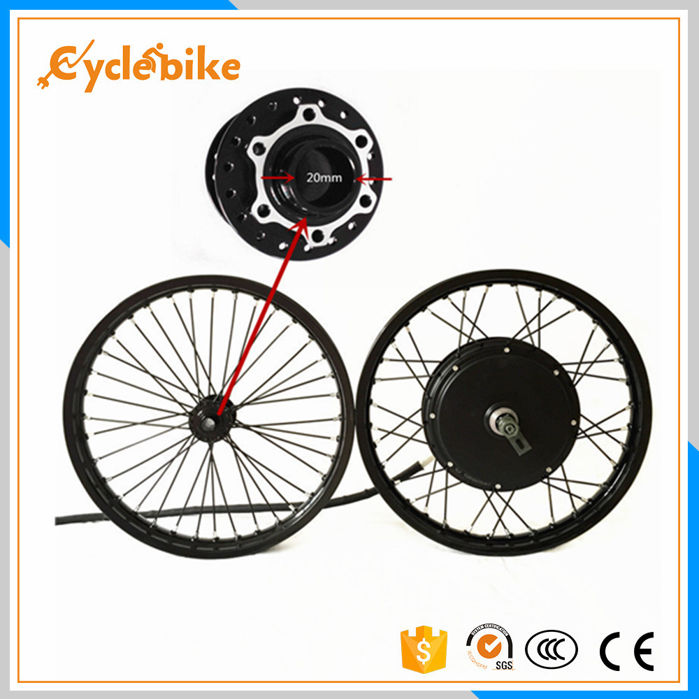 50H QSV3 48v-120v 5000w electric bike hub motor wheel macthing with front wheel with hub 20mm e bike kit 1 pcs dental standard teeth model teach study