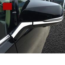 lsrtw2017 car styling stainless steel car rearview trims for toyota alphard toyota vellfire 2015 2016 2017 2018 lsrtw2017 car styling 304 stainless steel car floor track protect cover for toyota alphard vellfire 2015 2020 ah30