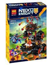 BLEA 10518 Nexus Рыцари Общие Magmar's Siege Machine Рока Building Blocks Minifigure Игрушки Совместимо С Legoe 70321