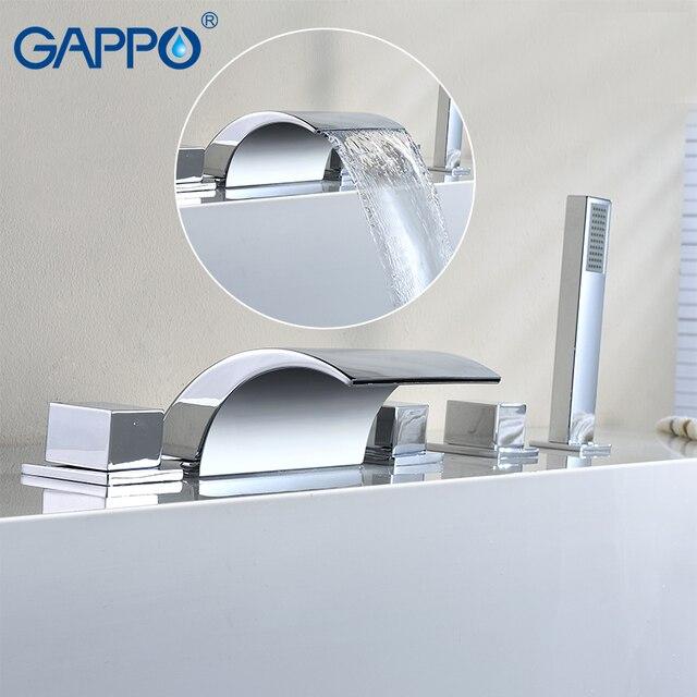 GAPPO bathtub faucet bath shower Bathroom Shower Faucet tap set ...