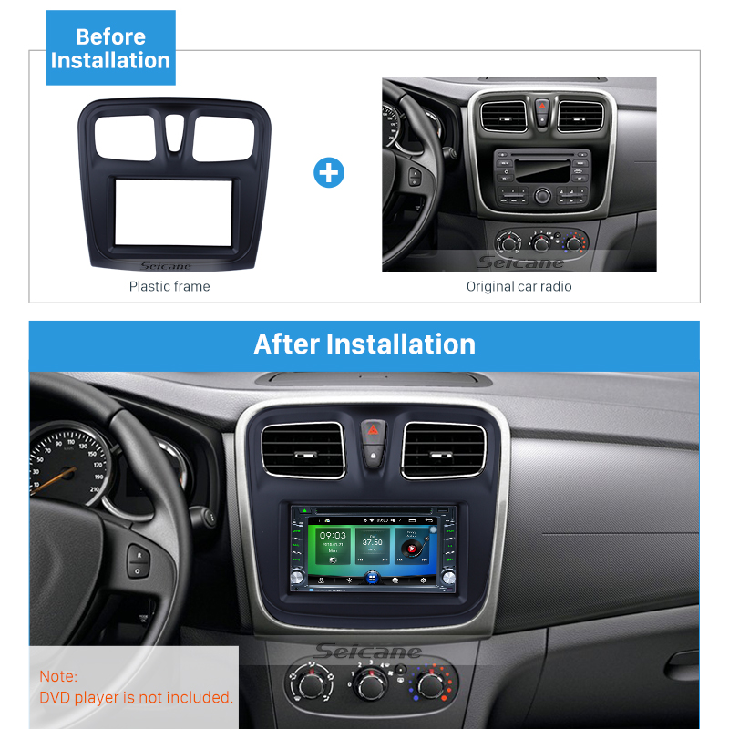 YUNTX Android 8.1 Double din Car Stereo for Audi A3 2003,2004,2005,2006,2007,2008,2009,2010,2011 Octa Core 7 inch 2G 16G Autoradio with In-dash Navigation System,Backup Camera