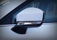 Lapetus Accessori Esterni Porta Specchio Retrovisore Sotto Striscia di Copertura Trim ABS Fit Per Mazda CX-9 CX9 2017 2018 2019/ kit cromo