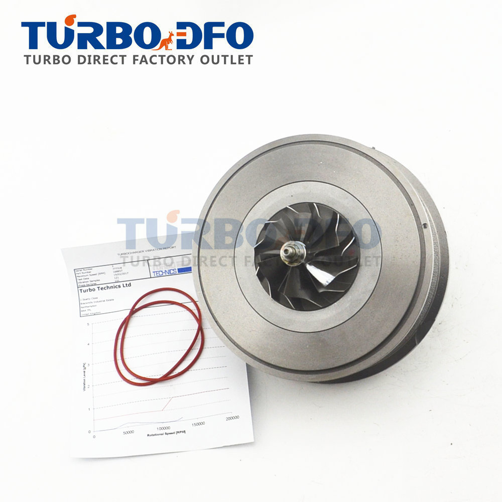 764809-0001/2 cartridge turbo core 777318 turbine NEW CHRA Balanced for Mercedes Sprinter II 419CDI/519CDI 140Kw OM642 DE 30 LA image