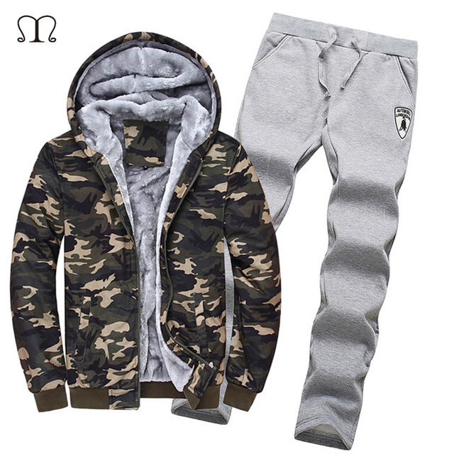 Army Military Camouflage Camo Hoodies Men Brand-Clothing Winter Jacket Sweatshirt Tracksuits Chandal Sudaderas Hombre Chaqueta