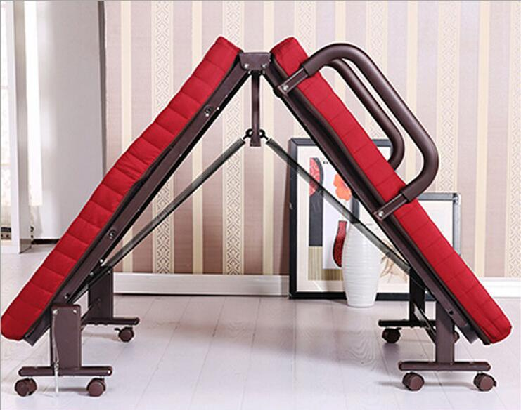 simple folding bed double office camp bed children folding bedchina mainland camp bed office