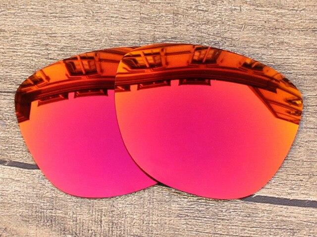 Fire Red Espelho óculos Polarizados óculos de Armação de Lentes de  Reposição Para óculos de Sol 9fa3e16723