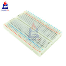 MB102 400 Points de liaison trous universels sans soudure PCB platine de prototypage Mini Test Protoboard bricolage planche à pain pour Bus carte de Test(China)