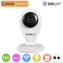 SUNLUXY 720 P HD Mini IP Wi-Fi Камера Беспроводной Сети P2P Домашней Безопасности Радионяня Ночного Видения Наблюдения Cam Video аудио