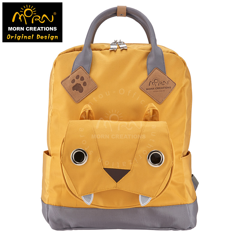 Morn Creations Original Design The Big Cats Style 900D Polyester Large and Medium Size Big Cats Backpack morn creations hong kong original design soft handle panda backpack blue laptop school bags