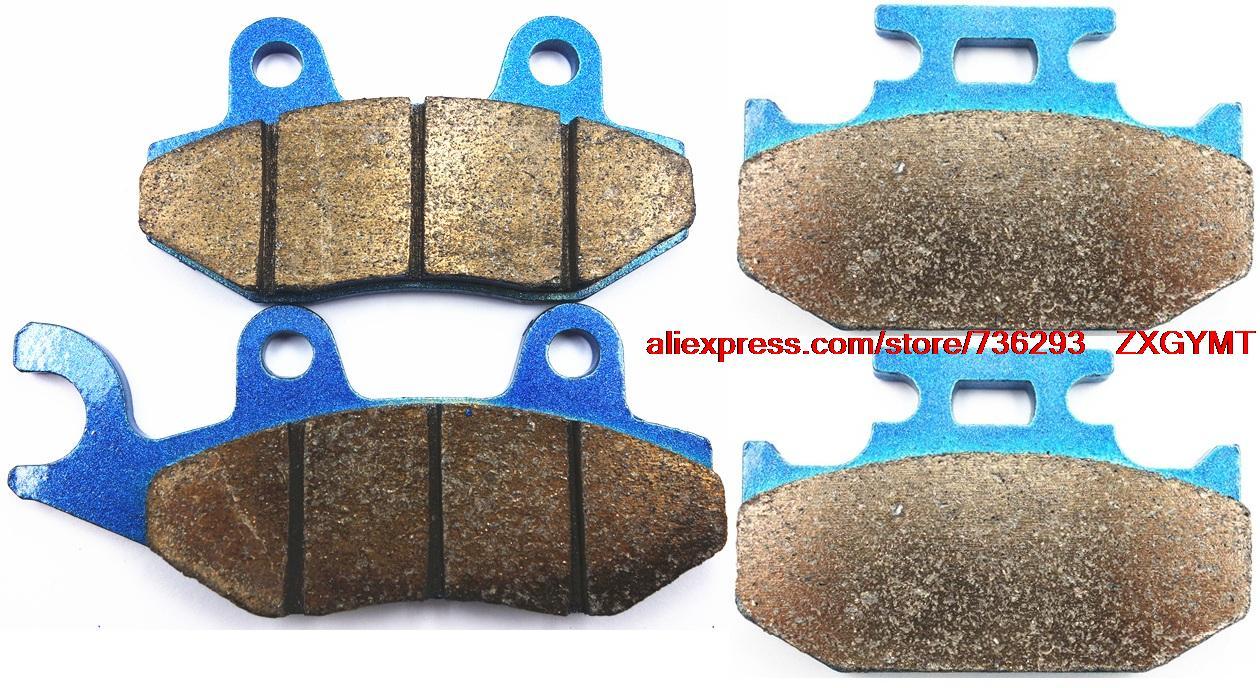 Sintering Off-road Brake Pad Set fit SUZUKI RM125 RM 125 M , N , P , R , S 1991 - 1995