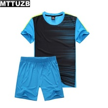 MTTUZB sportswear fight color short sleeve clothing suit men's spring summer wear costume  tracksuits male leisure clothes set