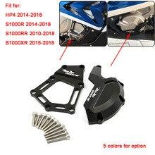 S1000RR S 1000 R RR XR אופנוע CNC מנוע שומר גלגל מכון מקרה כיסוי התרסקות מגן משמר עבור BMW S1000RR HP4 s1000R S1000XR