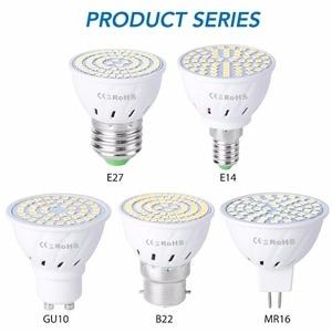 MR16 Corn Bulb Spot light GU5.3 Lamp GU10 luminaria led Lampara B22 Spotlight Bulb E14 LED 220V 5W 7W 9W bombilla led e27 home(China)