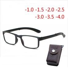 Dilipat Bingkai Selesai Kacamata untuk Pria dan Wanita Tontonan Gelar  Kacamata-1.0-1.5-2.0-2.5- 3.0-3.5-4.0 0a3c73112c