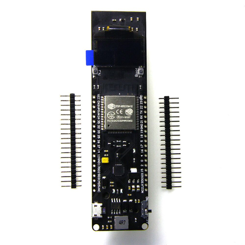 US $11 29 |TTGO ESP 32 ESP32 OLED WiFi & Bluetooth Battery ESP32 Rev1 0 96  inch OLED development tool-in Replacement Parts & Accessories from Consumer
