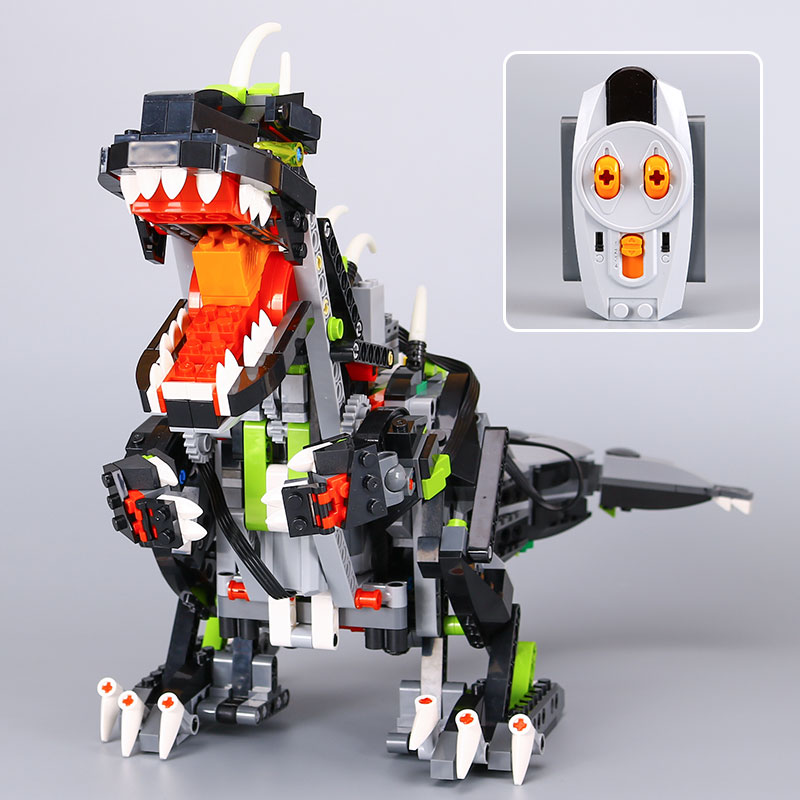 IN STOCK Lepin 24010 792Pcs Builerds Series The three-in-one remote control vocal dinosaur set 4958 Building blocks bricks toys wi fi роутер tp link m7350